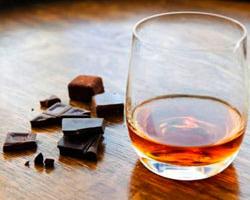 Ne prenez pas un bon rhum sans chocolat