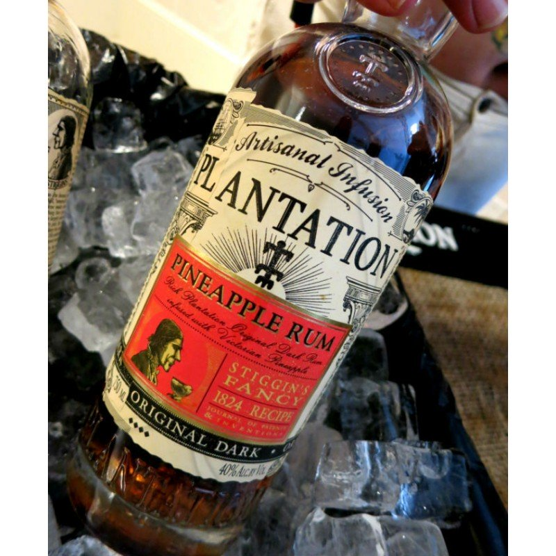 Le PLANTATION RUM PINEAPPLE 40 % 2
