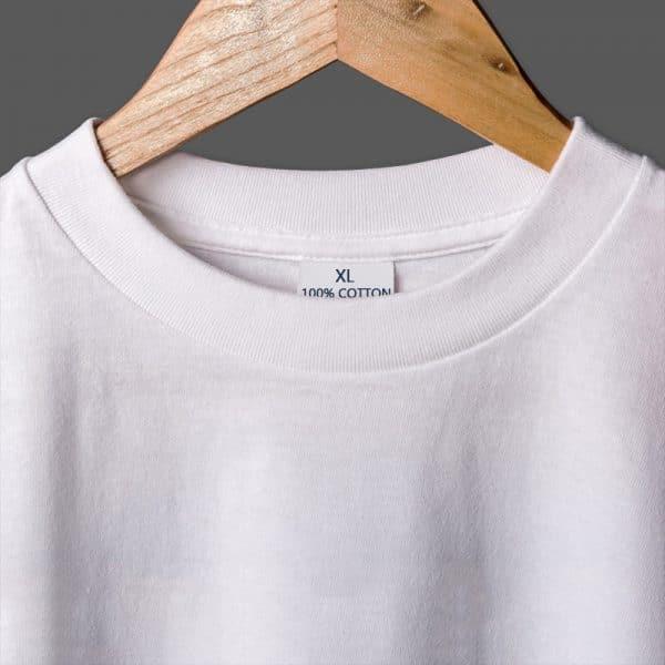 T-Shirt en Coton avec Lettres 4