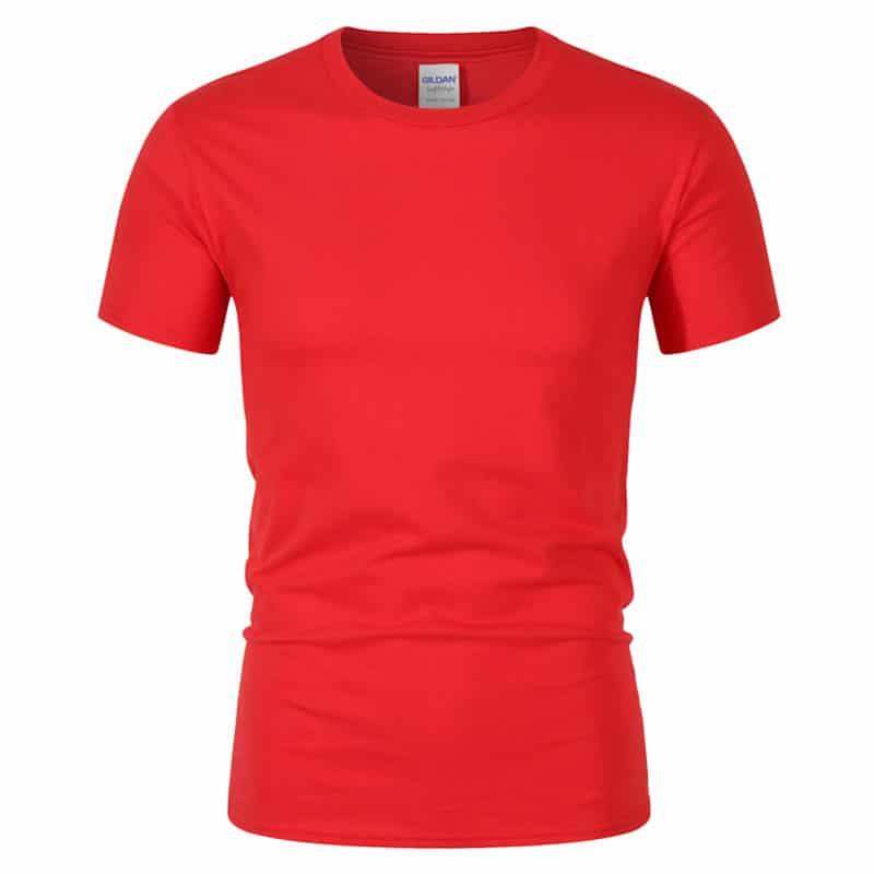 T-Shirt de Sport Noir avec Lettres 6
