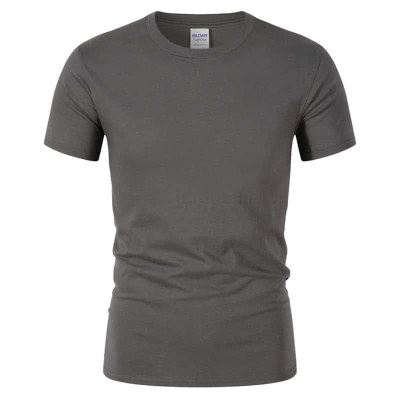 T-Shirt de Sport Noir avec Lettres 8