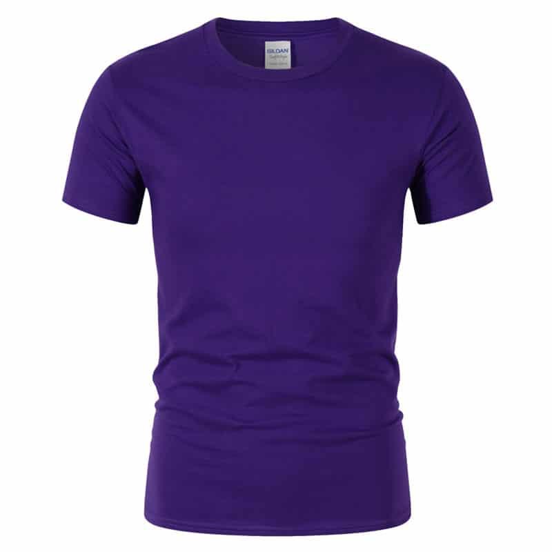 T-Shirt de Sport Noir avec Lettres 10