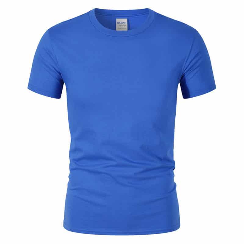 T-Shirt de Sport Noir avec Lettres 5