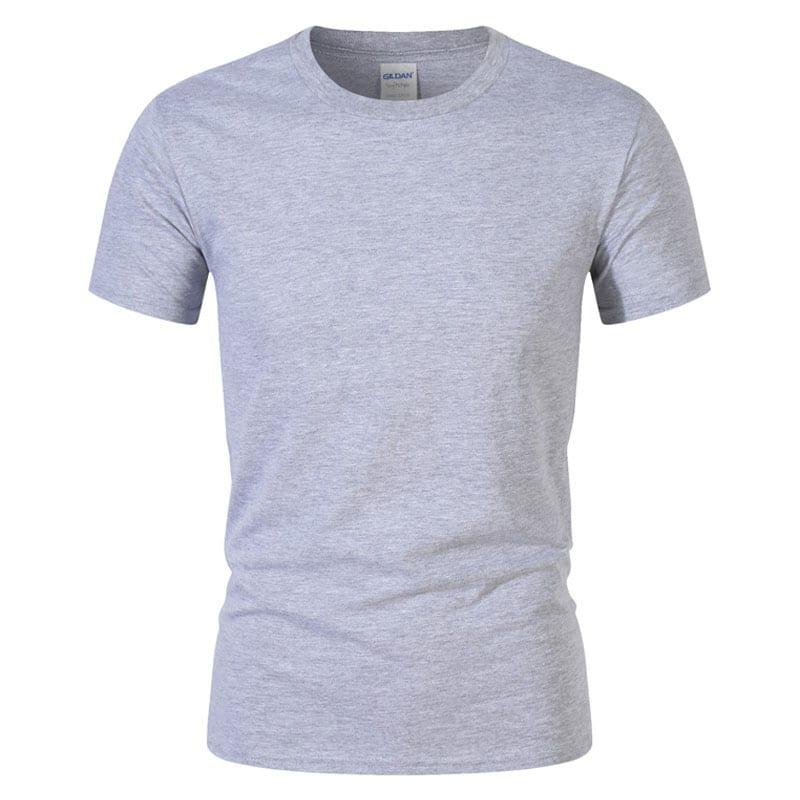T-Shirt de Sport Noir avec Lettres 7