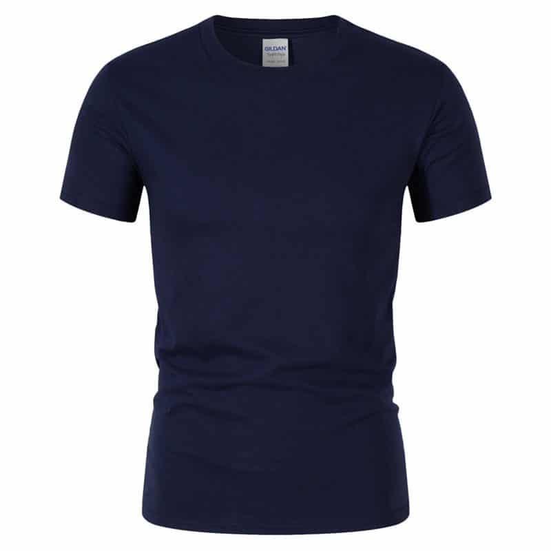 T-Shirt de Sport Noir avec Lettres 4