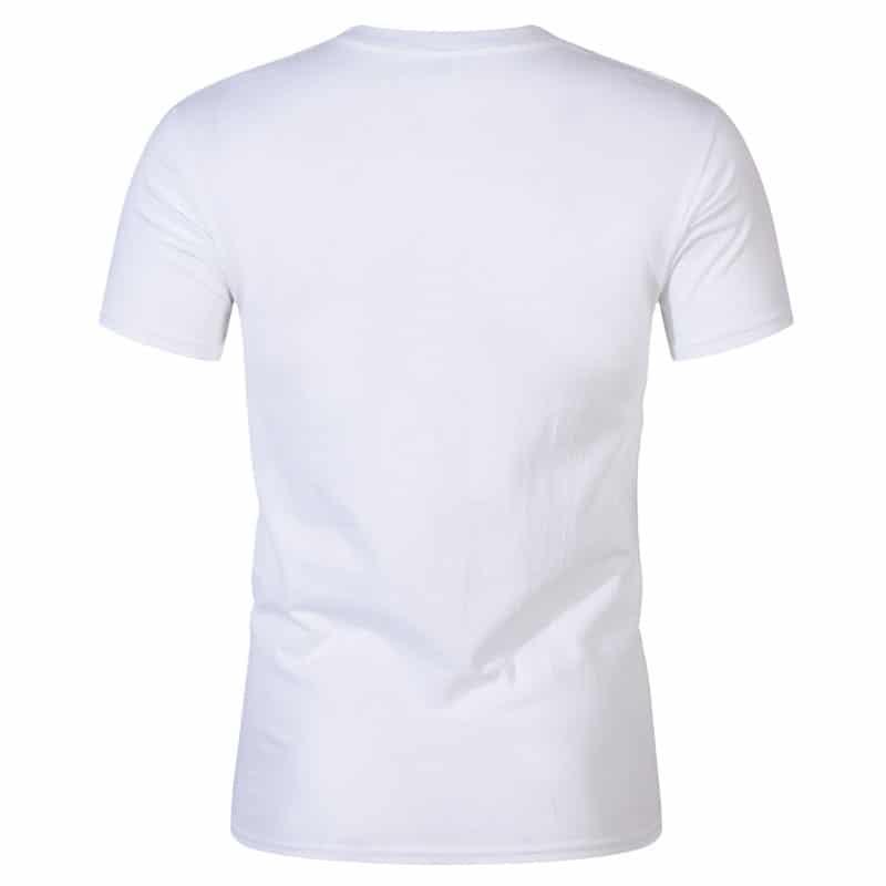 T-Shirt de Sport Noir avec Lettres 2