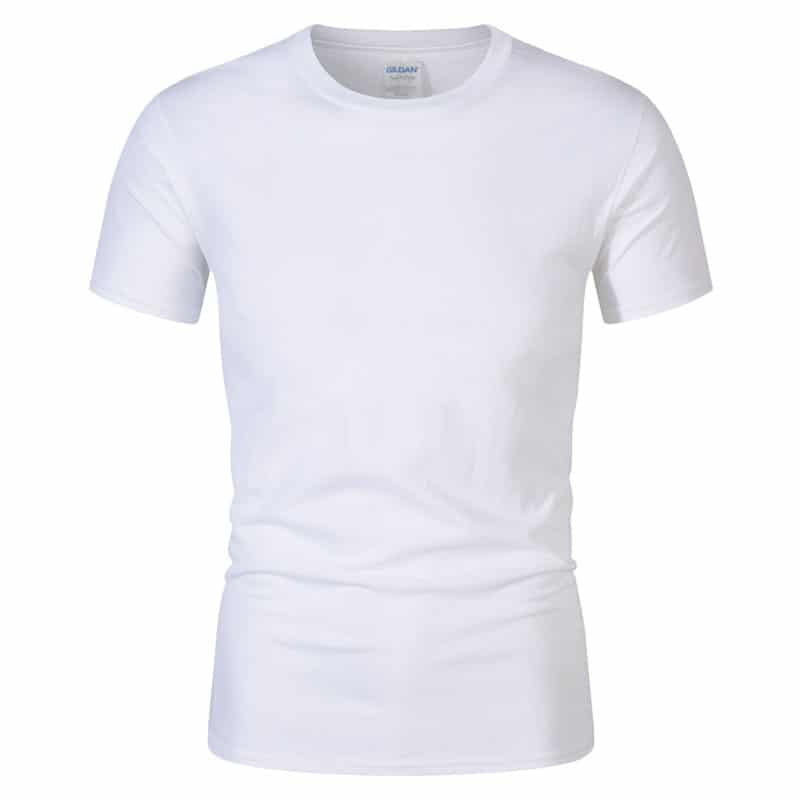 T-Shirt de Sport Noir avec Lettres 1