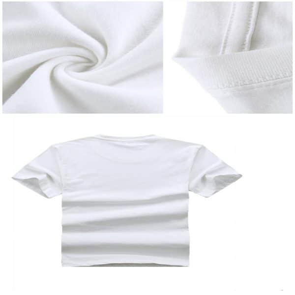 T-Shirt Sport avec Manches Courts et Rhum Motif 3