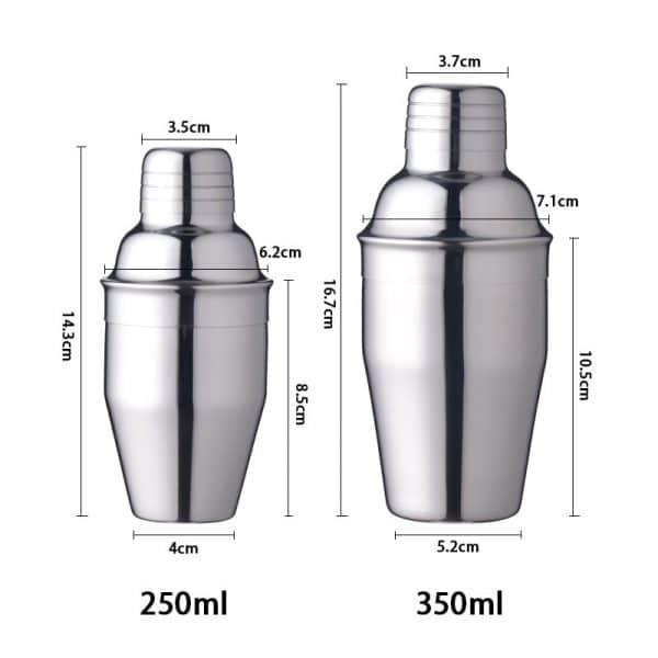 Shaker de Cocktail Solide en Métal 6