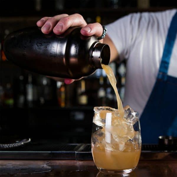 Petit Shaker de Cocktail Acier Inoxydable 4