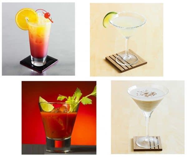 Shaker de Cocktail Transparent Plastique 4
