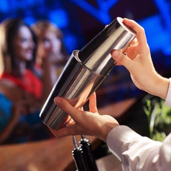 Grand Shaker de Cocktail Acier Inoxydable 2