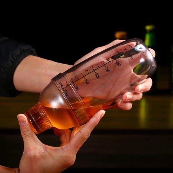 Shaker de Cocktail Solide Plastique 6