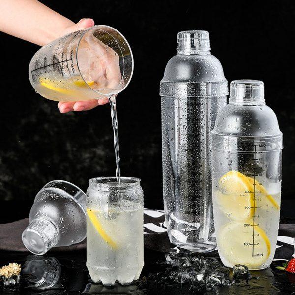 Shaker de Cocktail Solide Plastique 2