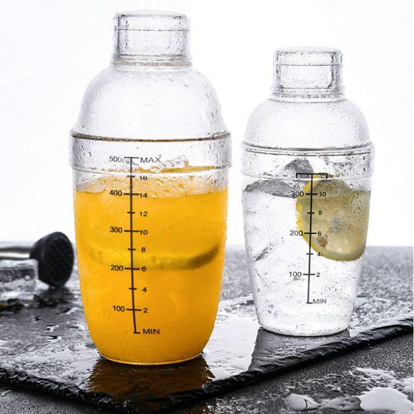 Shaker de Cocktail Solide Plastique 4
