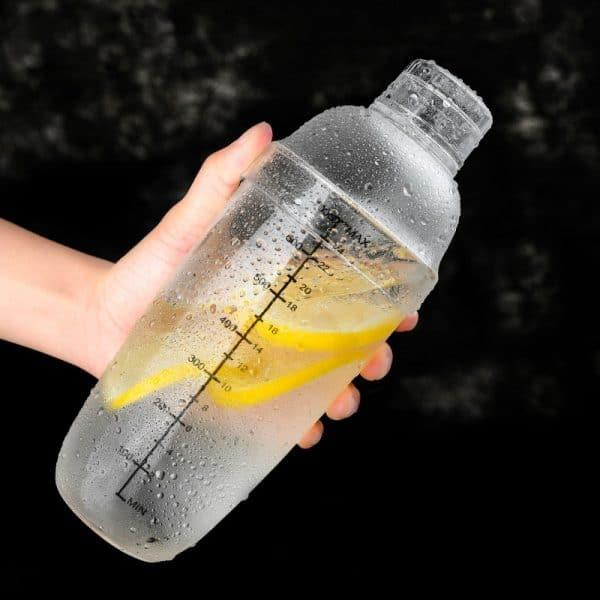 Shaker de Cocktail Solide Plastique 5
