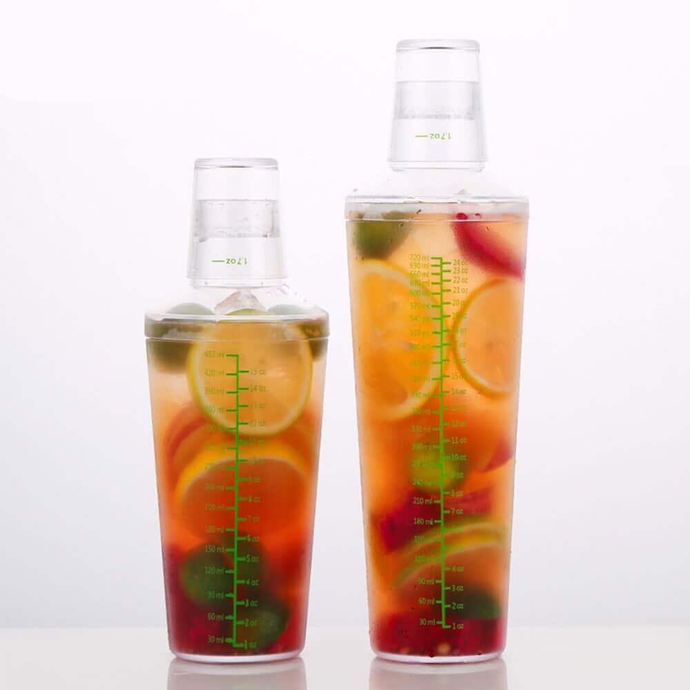 Grand Shaker de Cocktail Plastique 3
