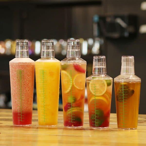 Grand Shaker de Cocktail Plastique 2