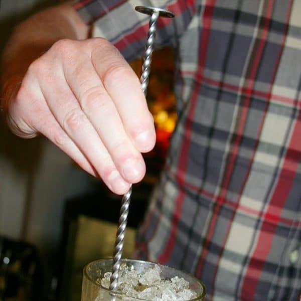 Long Cuillère de Cocktail Métal 1