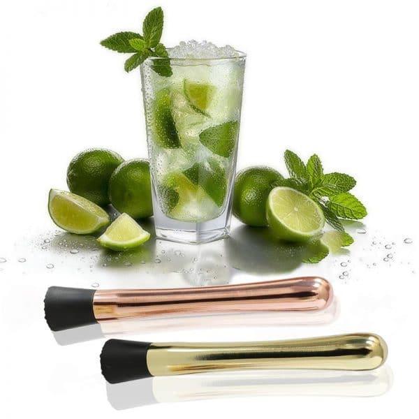 Pilon à Cocktail Solide Acier Inoxydable 3