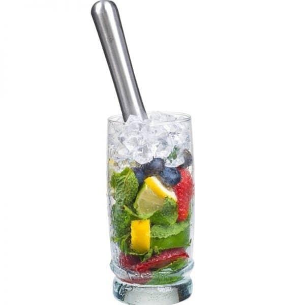 Pilon à Cocktail Solide Acier Inoxydable 1