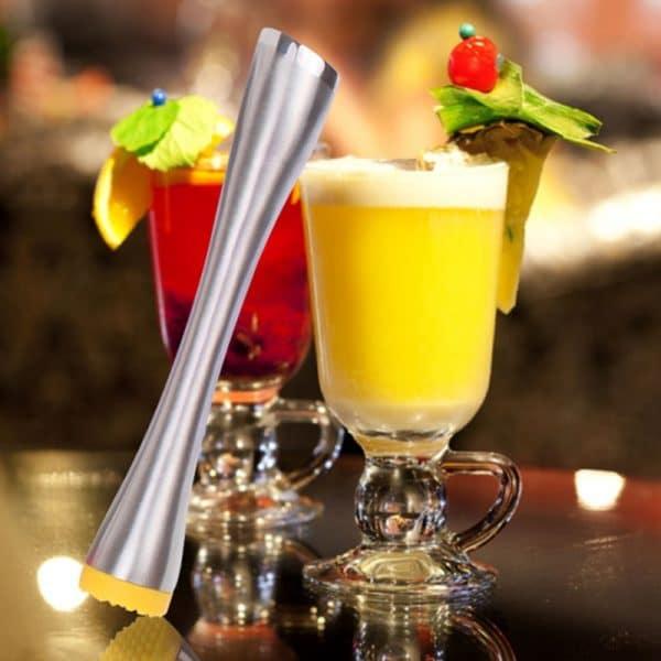 Pilon à Cocktail Argent Acier Inoxydable 4