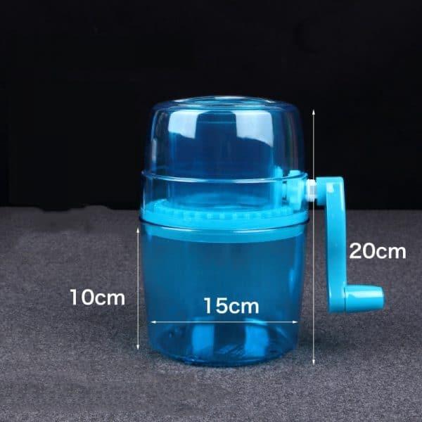 Petit Concasseur Bleu Plastique 3