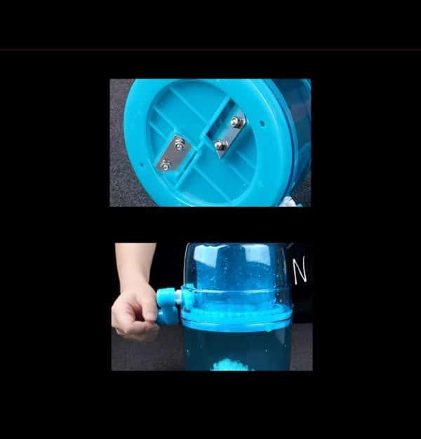 Petit Concasseur Bleu Plastique 4
