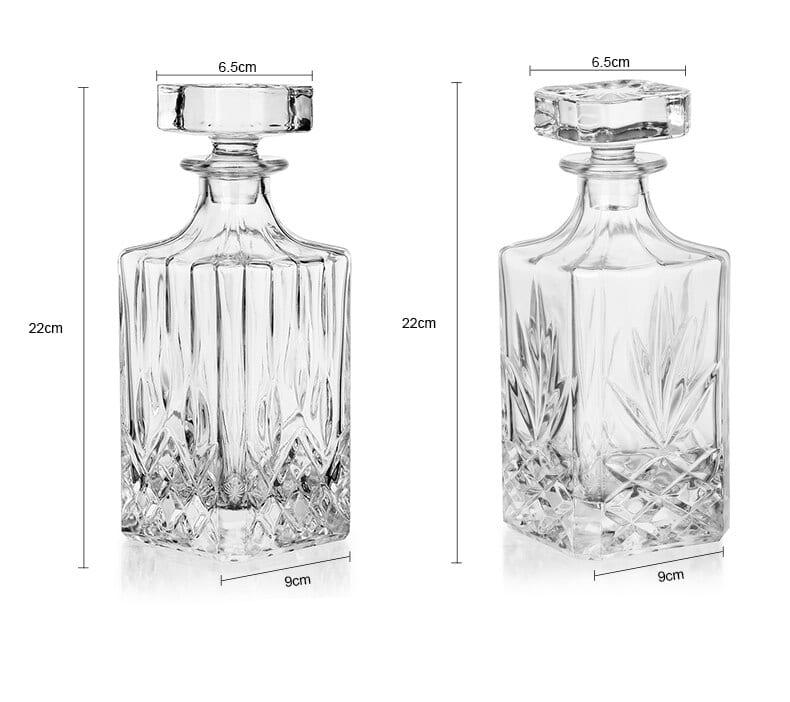Carafe à Rhum Transparent Cristal 9