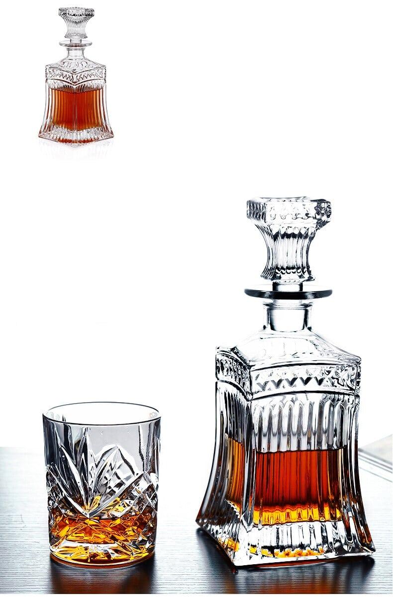 Carafe à Rhum Transparent Cristal 7