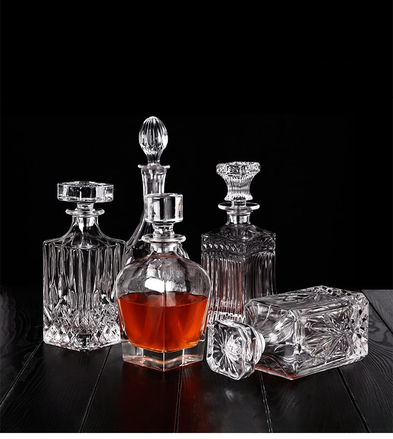 Carafe à Rhum Transparent Cristal 6