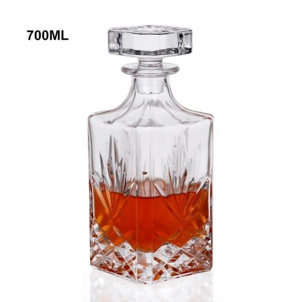 Carafe à Rhum Transparent Cristal 3