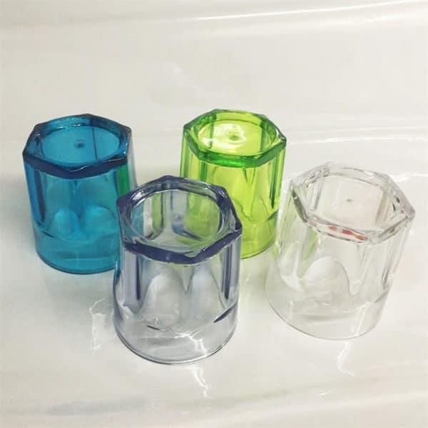 Verre à Rhum Solide Plastique 3