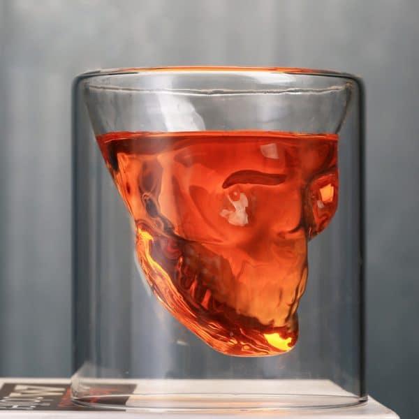 Verre à Rhum Unique Transparent 4