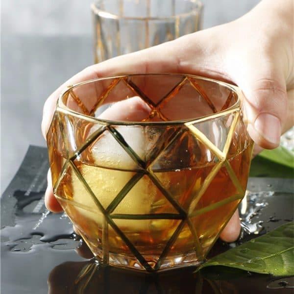 Verre à Rhum Antique Cristal 1