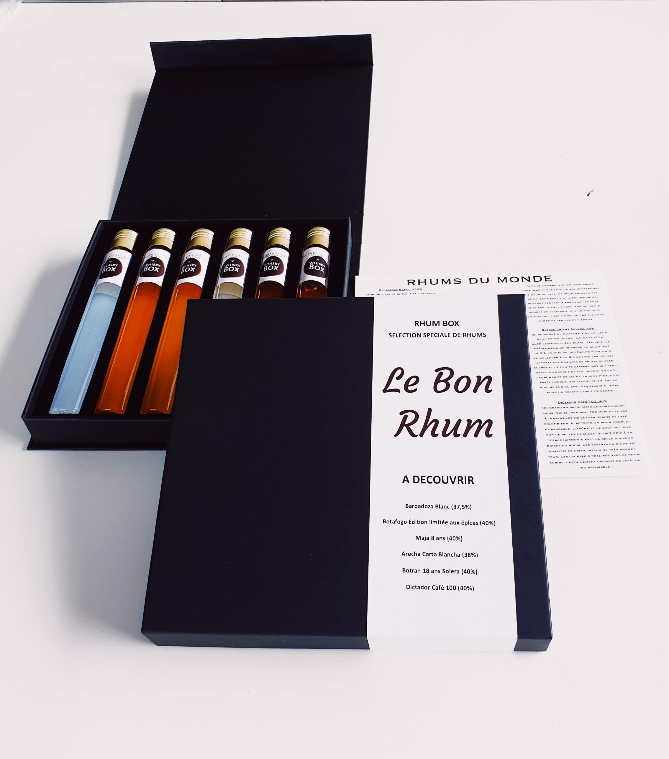 box de rhum Le Bon Rhum